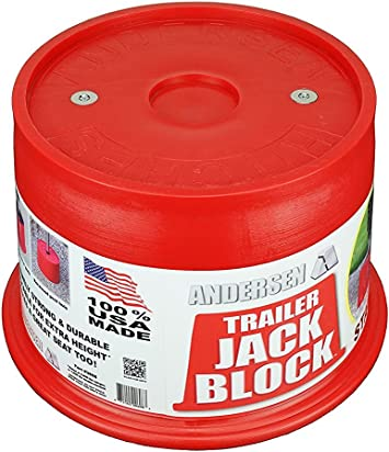 Trailer Jack Block with Magnets Andersen Hitches 3608