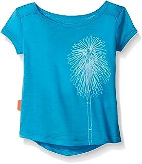 Icebreaker Mädchen Funktionsshirt Tech T Lite Short Sleeve Wildflower 8f87da352f