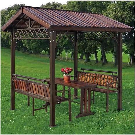 HLZY Gazebo de Muebles de jardín Gazebos al Aire Libre for ...