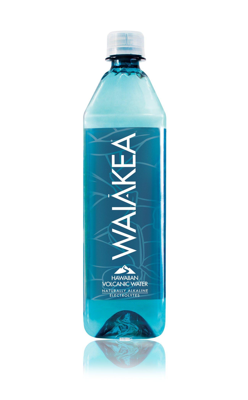 Waiakea Hawaiian Volcanic Water, Naturally Alkaline, 100% Upcycled Bottle, 700mL (Pack of 15) by Waiakea
