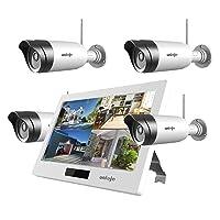 4-Pcs Uniojo 1080P Wireless WiFi Security Camera System