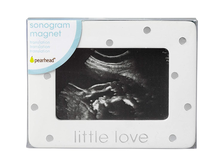 Pearhead Sonogram Little Love Magnet Frame