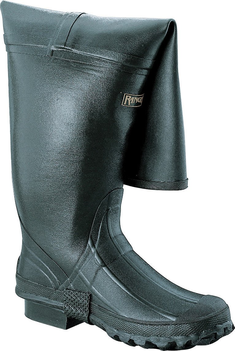 Honeywell Safety A111-11 Ranger Stormking Insulated Men's Hip Boot with 2-Buckle, Size-11, Forest Green