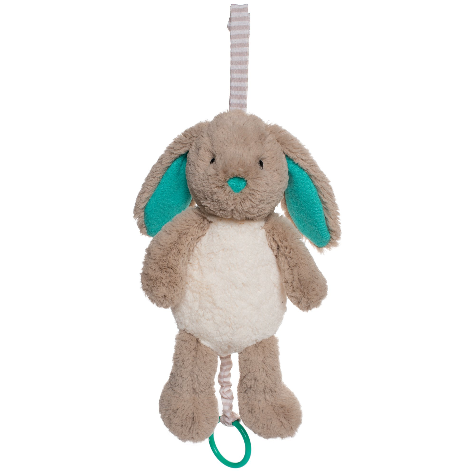 Manhattan Toy Woodland Babies Bellamy Bunny Musical Pull and Stroller