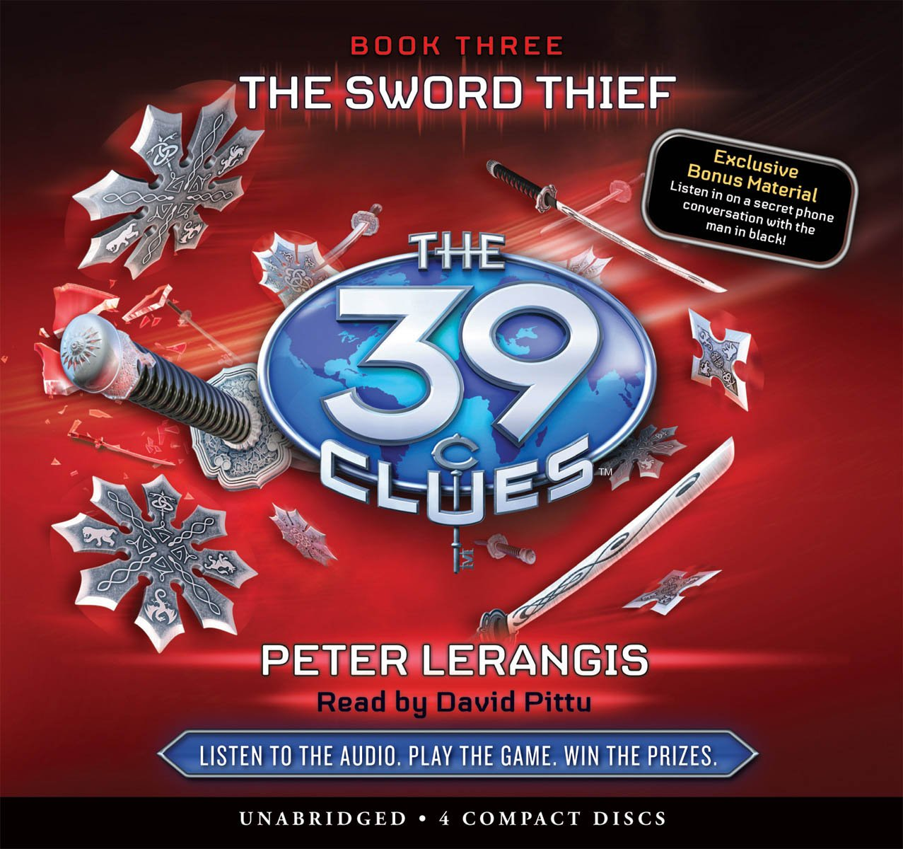 The Sword Thief (The 39 Clues, Book 3) - Audio Library Edition