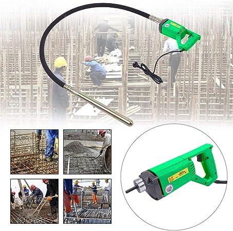 1300W Vibreur /à B/éton /électrique 1300W//800W Vibreur Beton aiguille a beton 4000 r//min avec tuyau de 1,5M//2M,Vibrateur en b/éton avec tisonnier vibrant de 35 mm