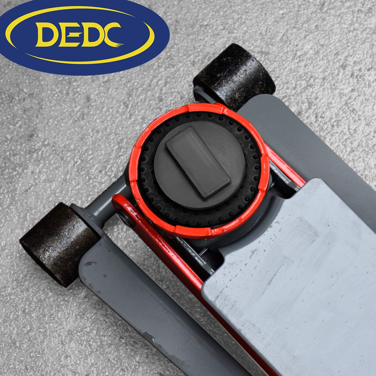 TONGXU 4pcs Universal para BMW y Mini Ranurado de goma Jack Pad Frame Rail Protector Jack Block