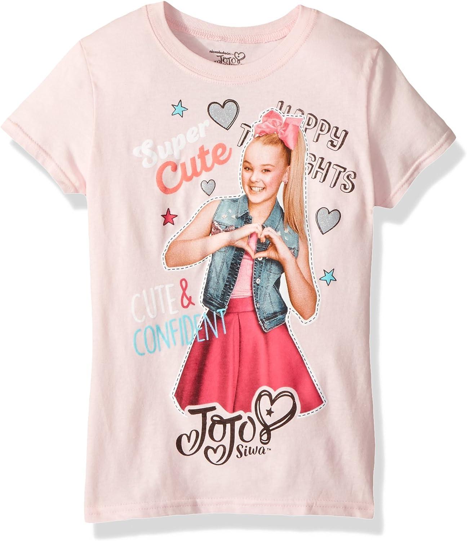Nickelodeon Girls JoJo Siwa Short Sleeve T-Shirt