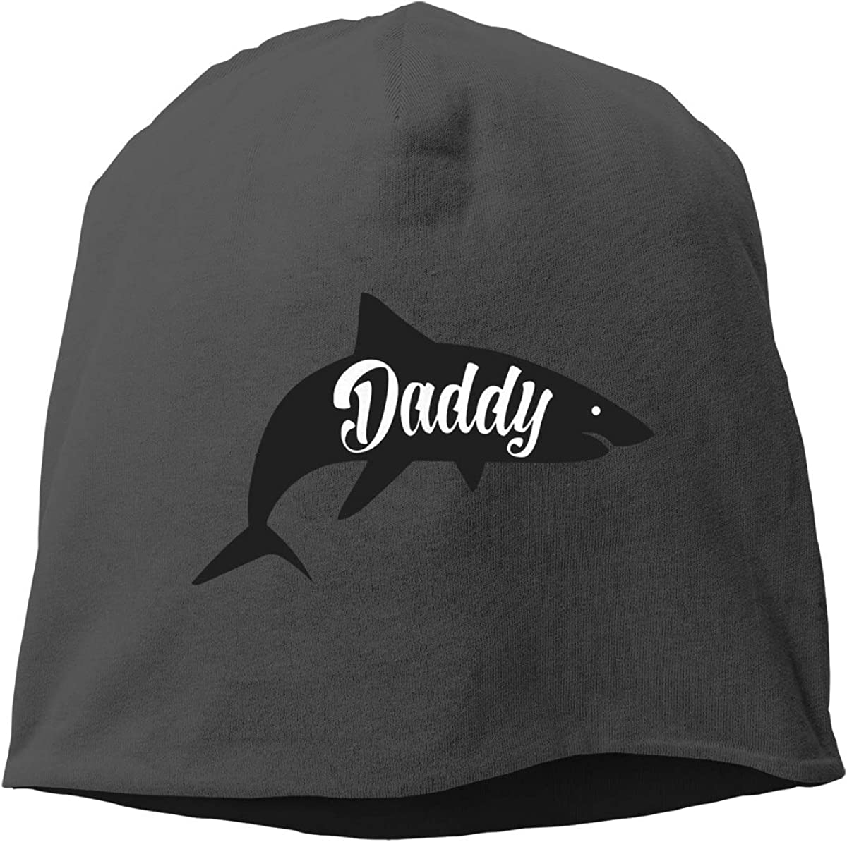 Daddy Shark Skull Cap Helmet Liner Beanie Cap for Men Hip Hop Hedging Head Hat
