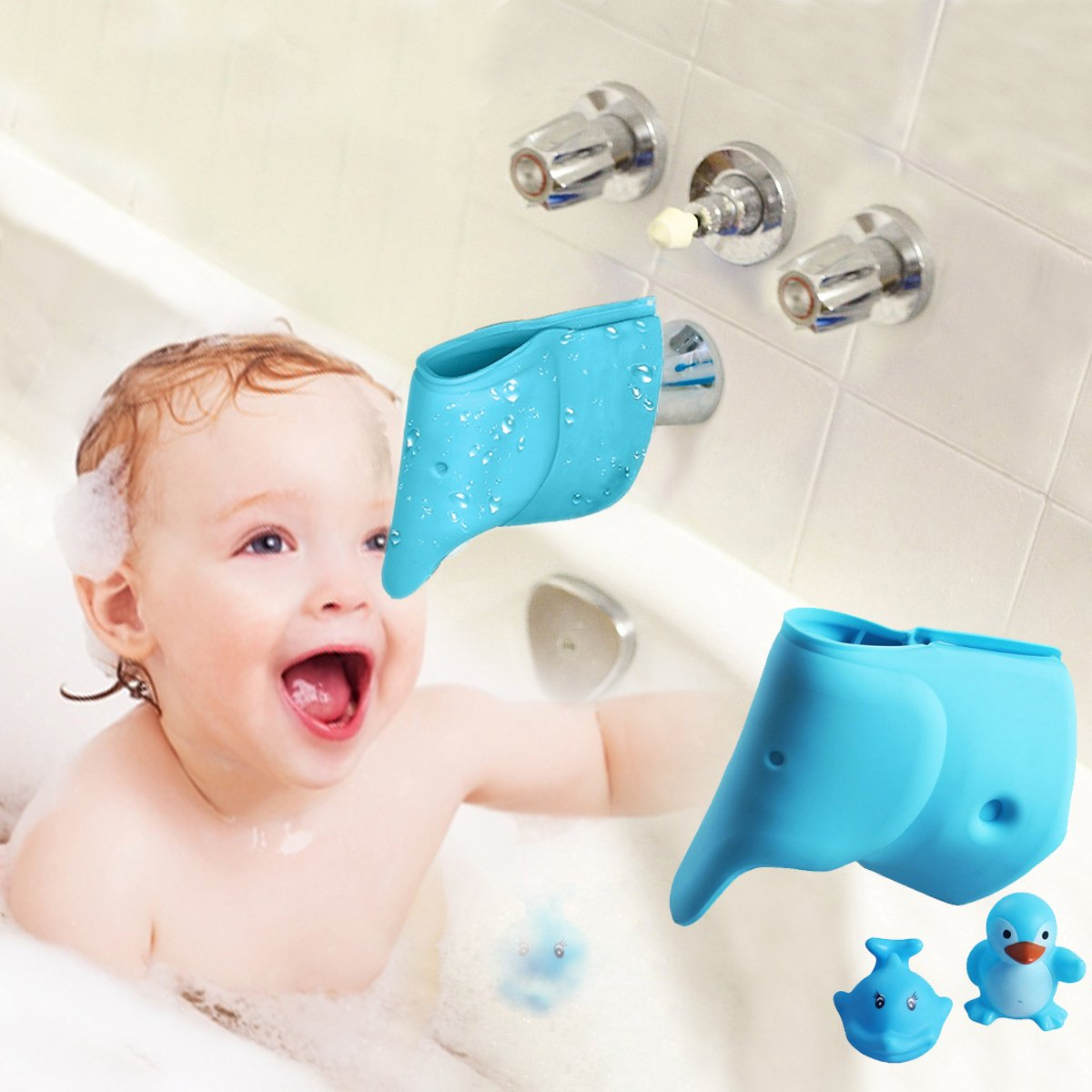 bath spout cover tub faucet cover for baby bathtub faucet extender protector for baby. Black Bedroom Furniture Sets. Home Design Ideas