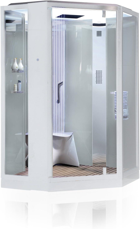 Vapor ducha Monza Blanco Vapor cabina de ducha, ducha, baño de ...