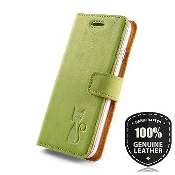 Premium Echtes Ledertasche Schutzhülle Tpu Wallet Flip Case Nubuk Taschen & Schutzhüllen Sonstige Farbe Blau