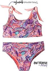 OFFCORSS Toddler Girl Two Piece Swimsuit Bikini Set | Vestido de Baño para Niña