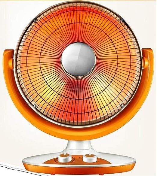 Yuan Duner Calefactor pies,Calentador pequeño Sol 16 Pulgadas Gran Escritorio Ventilador de calefacción para el hogar luz Oscura Horno eléctrico de Ahorro de energía: Amazon.es: Hogar