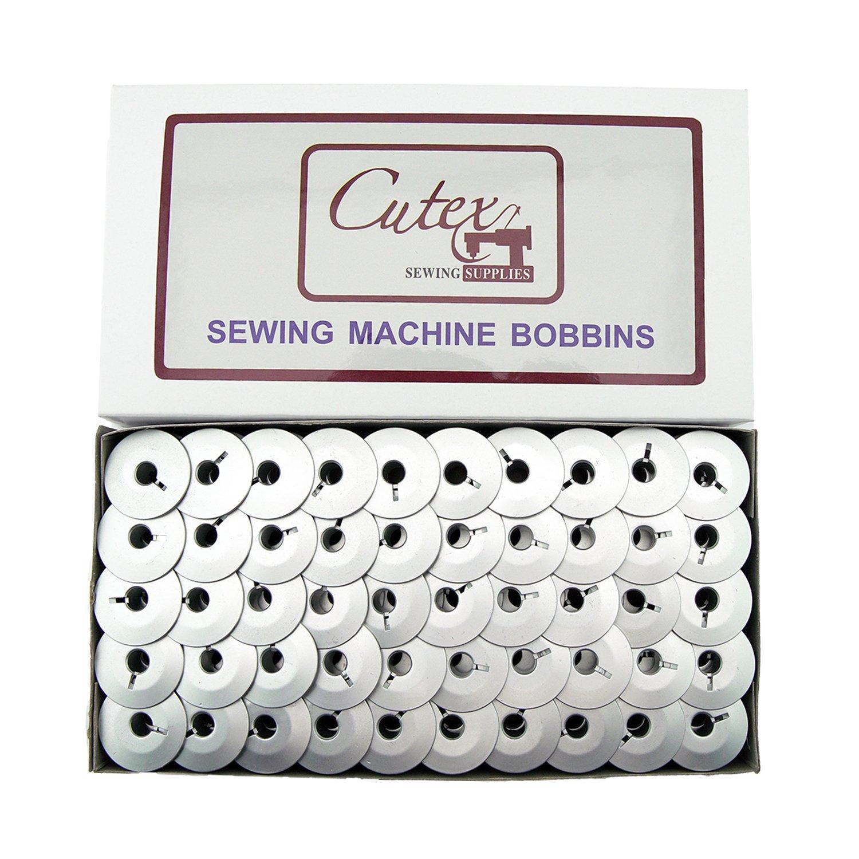 Cutex (TM) Brand 100''M'' Bobbins for Handi Quilter 16, Handi Quilter 18 Avante Quilting Machines by Cutex