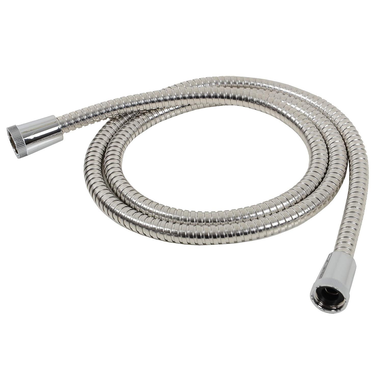 Croydex Essentials Reinforced Stainless Steel Shower Hose, 1.5 m AM168741