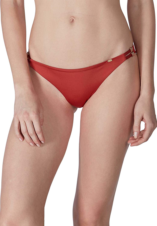 Skiny Damen Bikinihose Brasiliano Shiny Desert in stylischer Glanzoptik