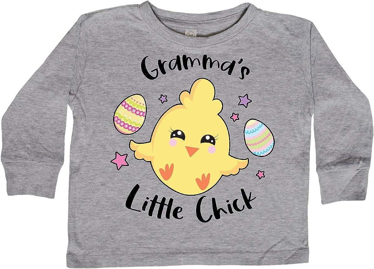 inktastic Happy Easter Grammas Little Chick Toddler Long Sleeve T-Shirt