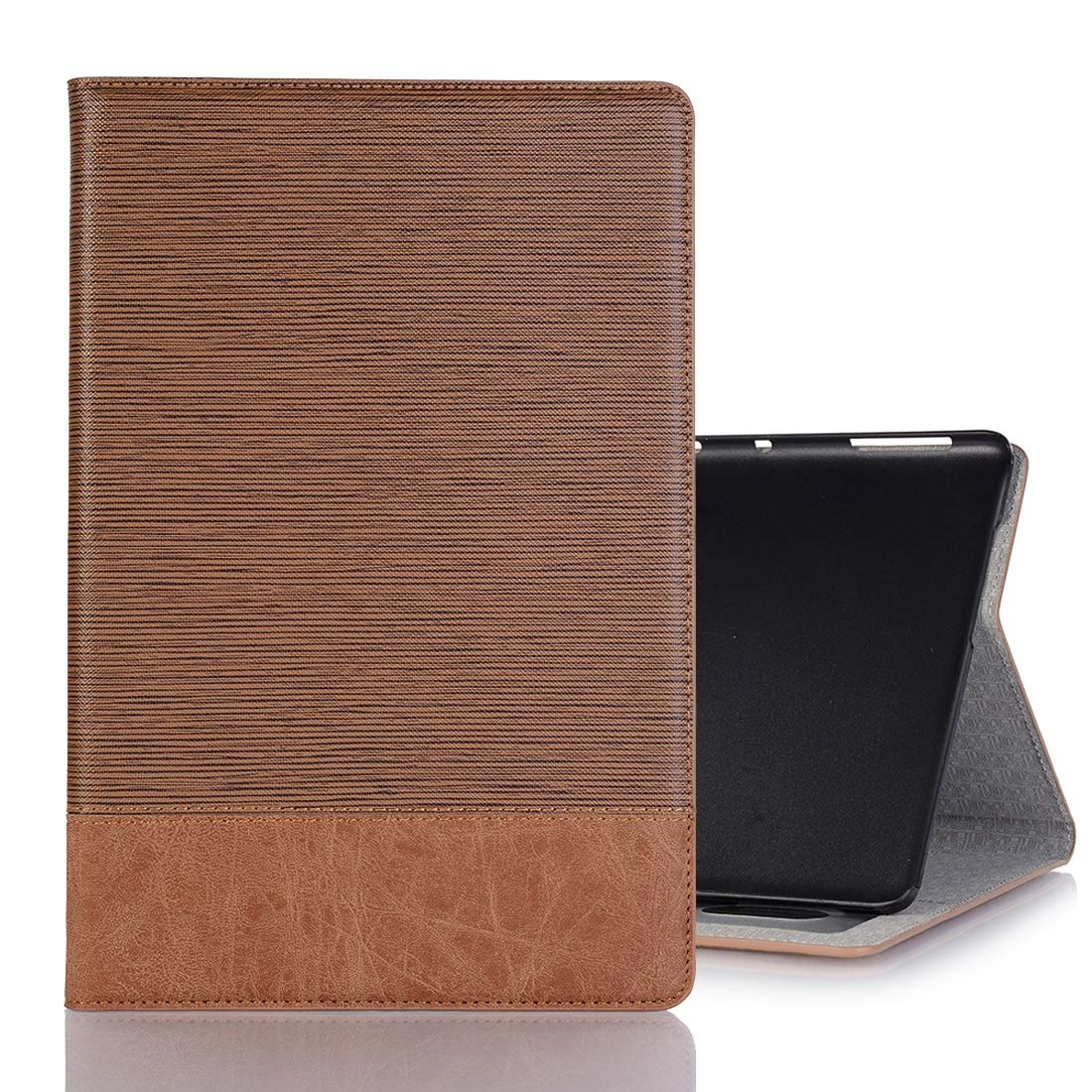 好評 HHF Huawei MediaPad M5 Lite 10.1インチ用フリップケース クロステクスチャ ブラウン 水平フリップ PUレザーケース B07NMJTQY8 HongHeFu ホルダー&カードスロット&財布付き, ブラウン, HongHeFu ブラウン B07NMJTQY8, エーティーフィールド:7a83b2b3 --- senas.4x4.lt