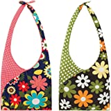 Envirosax Set of 2 Slingsax Bag, Gingham & Dot