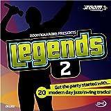 Zoom Karaoke CD+G - Legends Volume 2 - 20 Jazz/Swing Tracks [Card Wallet]