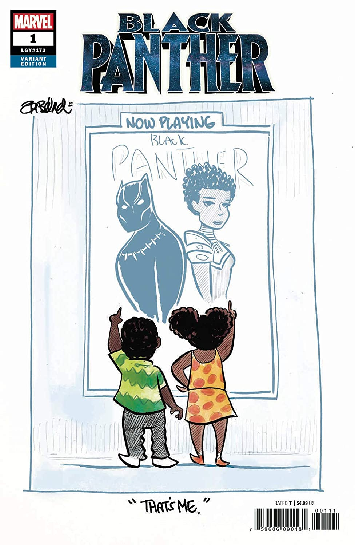 Black Panther #1 Beland Variant (Marvel, 2018) NM
