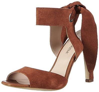 VERO MODA VMMALENE Leather Sandal Damen Slingback Sandalen