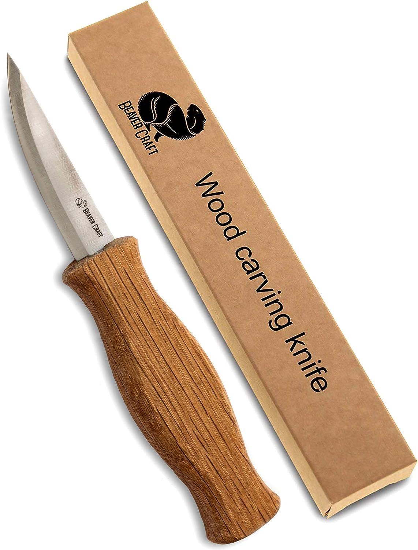 6. Beaver Craft Whittling Knife
