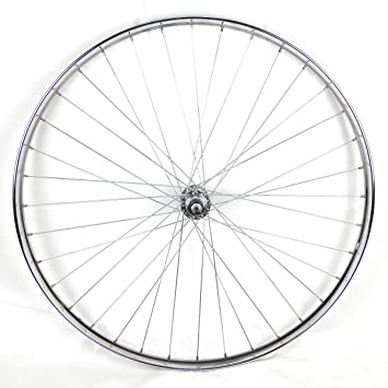 """Rueda trasera Westwood 28 x 1 ½"""" de acero cromado para bicicleta clásica"""
