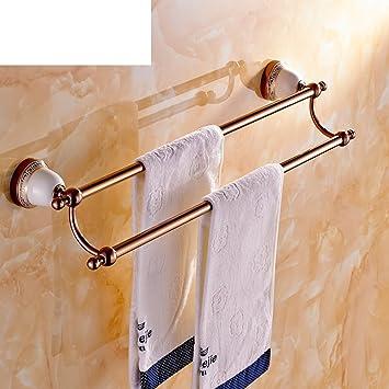 Handtuchhalter Messing Doppel Handtuchhalter Bad Accessoires