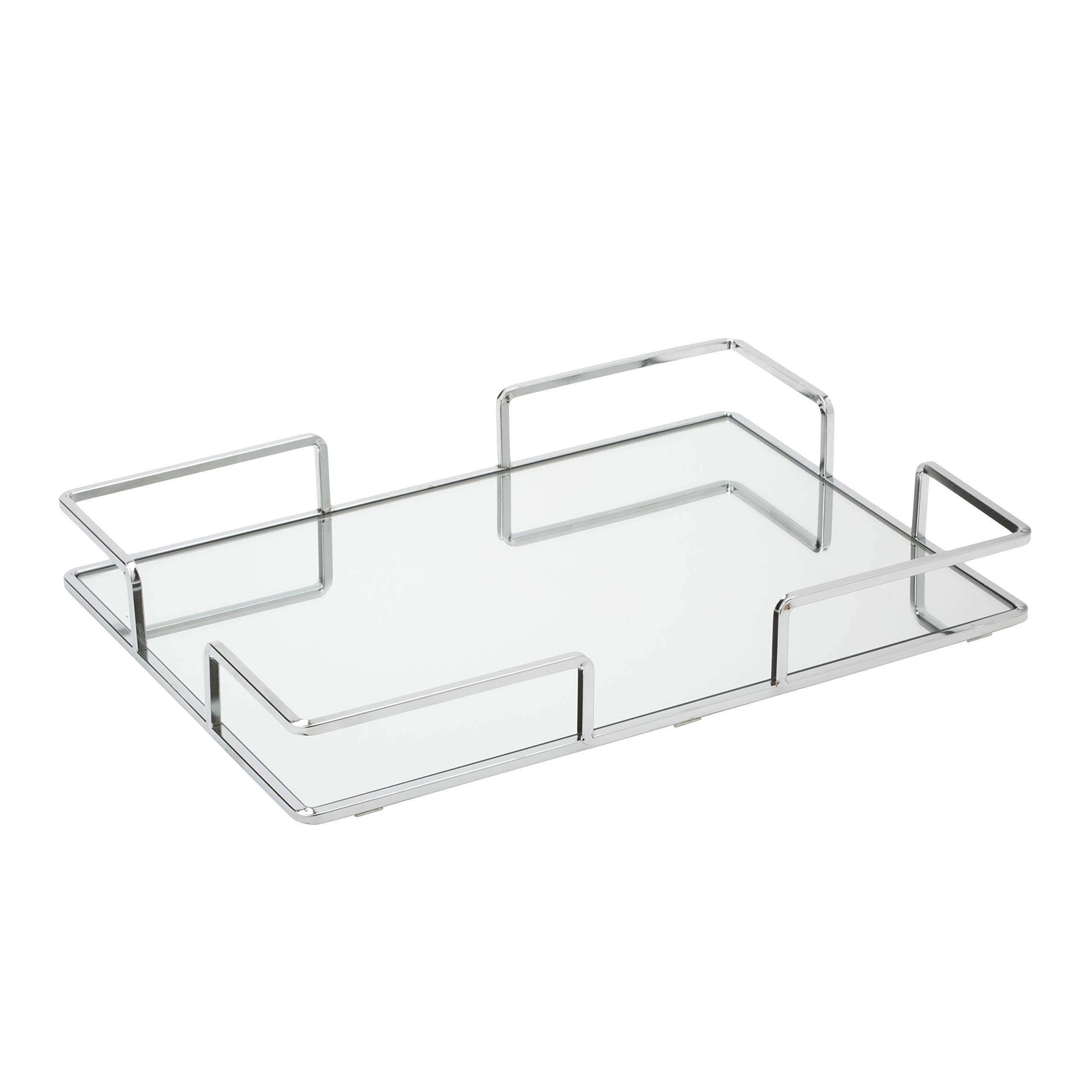 Home Details Vanity Tray, Chrome by Home Details