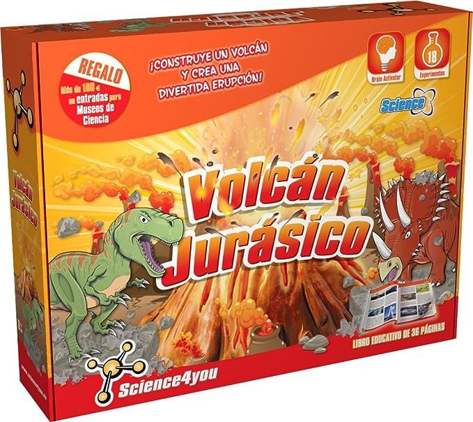 Science4you - Volcán jurásico - Juguete científico y Educativo: Amazon.es: Juguetes y juegos