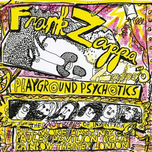 Frank Zappa - Playground Psychotics [2 Cd] - Zortam Music