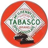 Tabasco Tin Spicy Dark Chocolate Wedges 50g