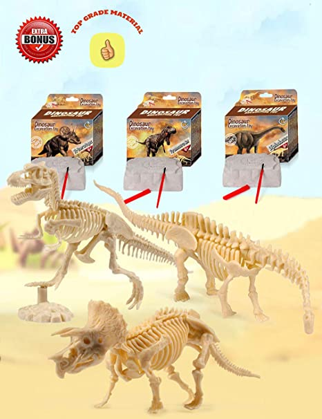 Dinosaur Egg Tyrannosaurus T-rex Dig It Out Excavation Kit With Digging Tool Reputation First Toys & Hobbies