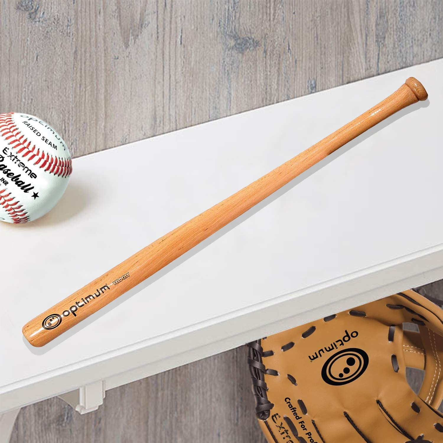 "Wooden Baseball Softball Bat 32/""//81cm Family Safety Exercise Sports Racket"