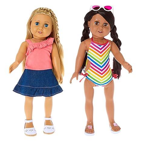 b95c345dd Amazon.com  Springfield Fashion Summer Loving Outfit Set