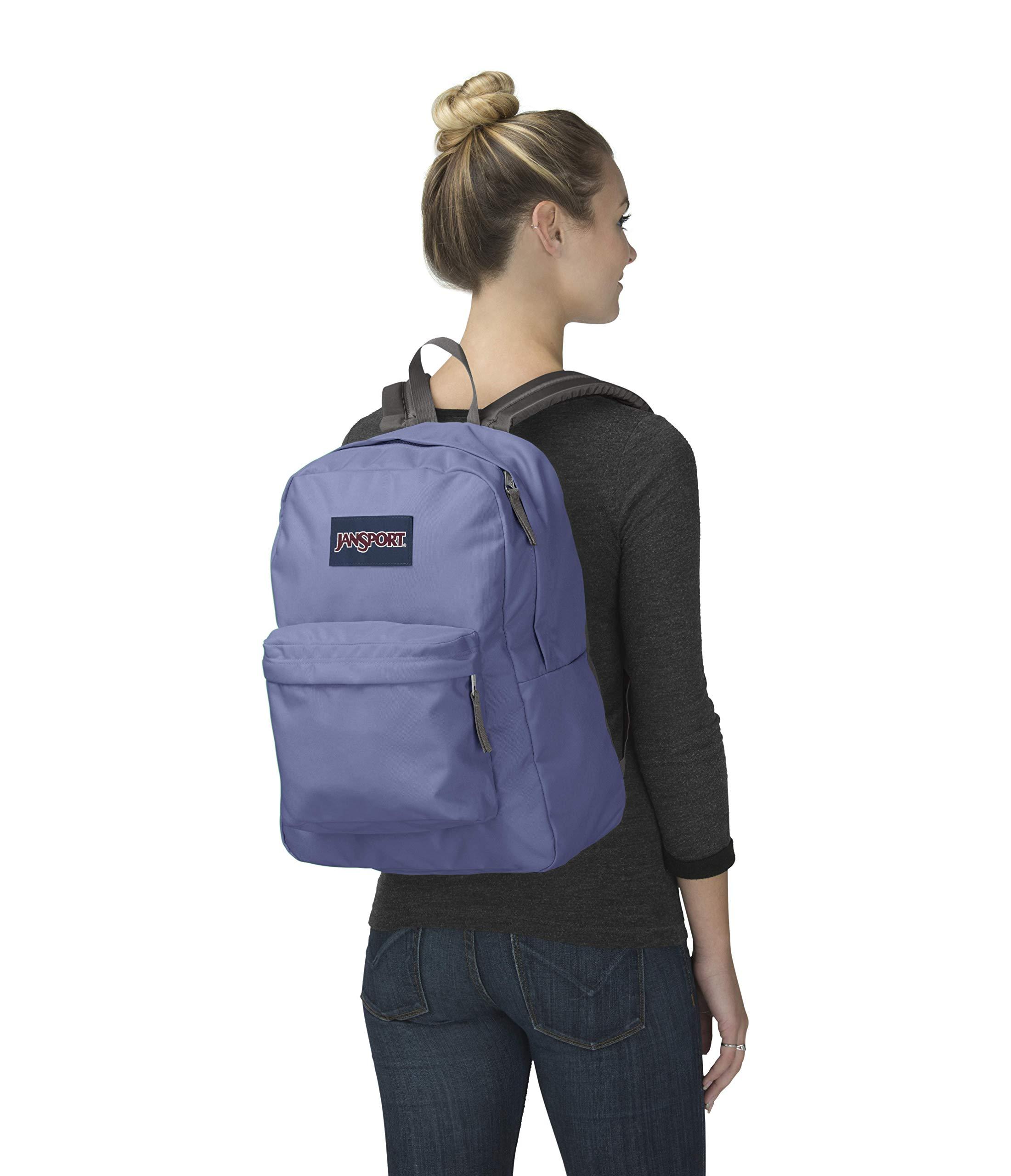 JanSport Superbreak Backpack - Bleached Denim - Classic, Ultralight