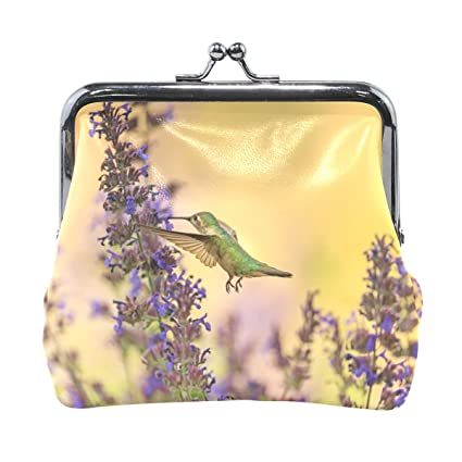 LIANCHENYI - Monedero de colibrí y Menta para Mujer y niña ...