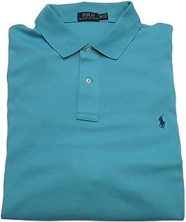 98d026ee8fed Ralph Lauren Men s Big and Tall Interlock Polo Shirt, Pony Logo, Classic Fit