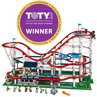 LEGO Creator Expert Roller Coaster 10261 Building Kit (4124 Pieces): Toys & Games