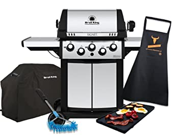 broil King Signet 390 – Barbacoa de gas de actualización Set