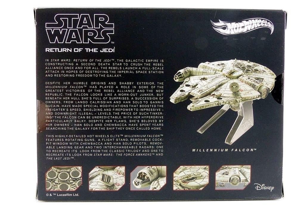 Hot Wheels Star Wars Rebel Alliance X-Wing Starfighter Red Five Vehicle
