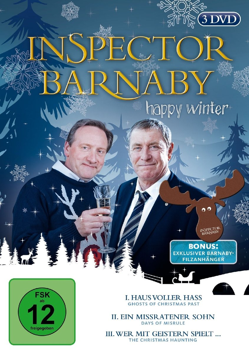 Inspector Barnaby - Happy Winter [3 DVDs]: Amazon.de: John Nettles ...