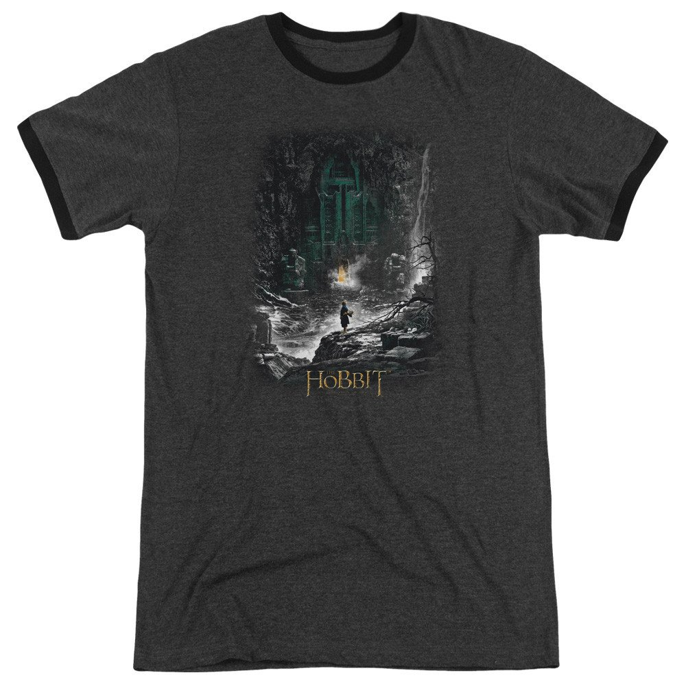 Hobbit Second Thoughts Adult Ringer T Shirt