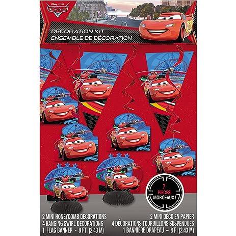 Amazon.com: Disney Cars Party Decoration Kit, 7pc: Toys & Games on