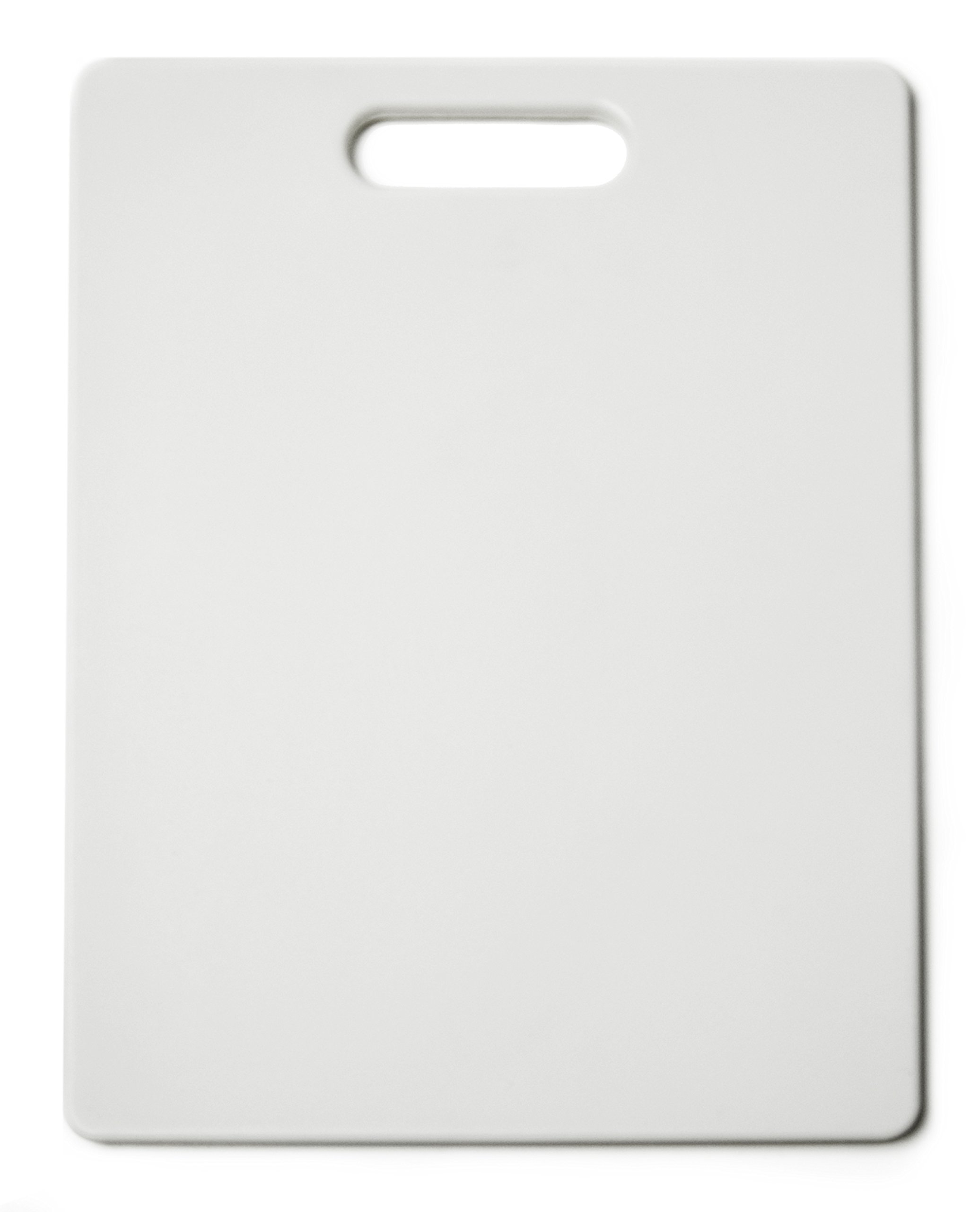 Architec Original Gripper Cutting Board, 11'' by 14'', White, Patented Non-Slip Technology and Dishwasher Safe Cutting Board