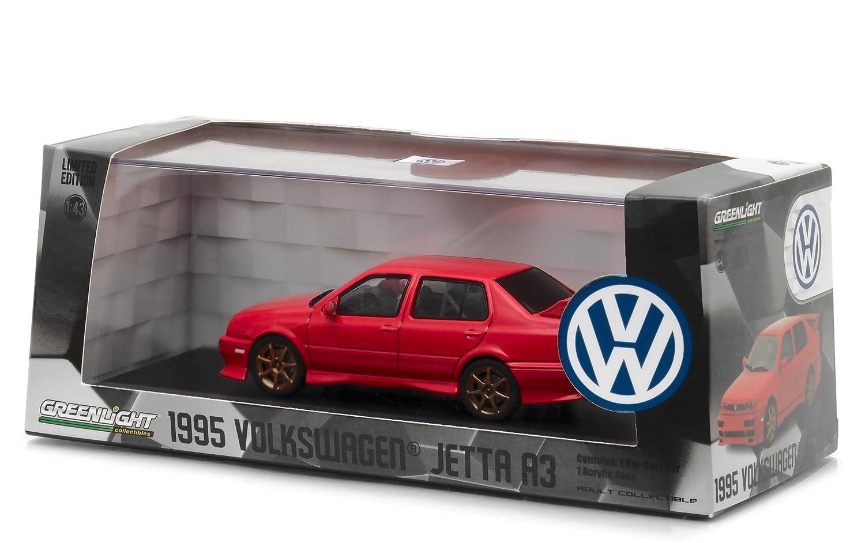 Amazon Com 1995 Volkswagen Jetta A3 Red 1 43 Diecast Model Car By