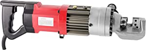 Huanyu Hydraulic Electric Rebar Cutter 2-2.5s Portable Hydraulic Rebar Cut-off Machine (110V, RC-16A)