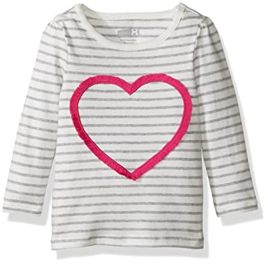 6dd4ab637411 Amazon.com: Crazy 8 Baby & Toddler Girls' Long-Sleeve Graphic Tee: Clothing